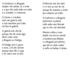 A Cachorra e a Bragada (Álvaro e Pepe de Forgas, Forgas)
