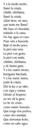 Romance do Cura e da Criada (, Berrozo)