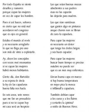 A capadura das mulleres (Álvaro e Pepe de Forgas, Forgas)