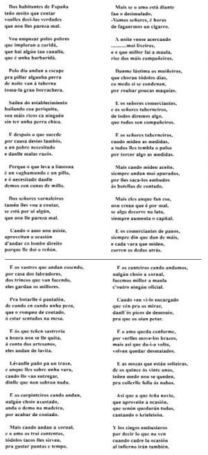Dos habitantes de España (Sr. José, Berrozo)