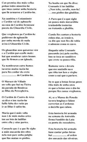 Copla de Cardón (Andrés Núñez, Mesía)