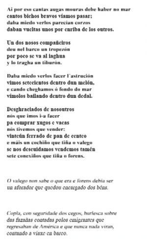 Ai por eso cantan augas mouras (José Rivas Criado, Baamonde)